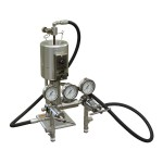 Filter Press, HTHP, 175 mL, Double Capped Cell for Cement Screens, N2 Pressure