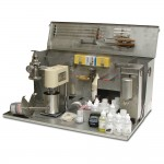 Airplane Kit with Rheometer, Filter Press, and Retort