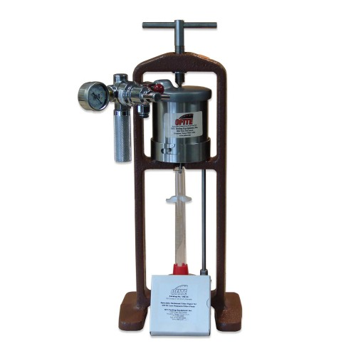 Filter Press Low Pressure Bench Mount With Co2 Pressure