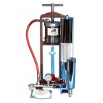 Filter Press, Low Pressure, Bench Mount, with Dead Weight Hydraulic Assembly