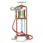 Filter Press, Low Pressure, Bench Mount, with Regulator and Hose