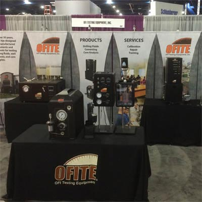 OFITE Booth 2637 at the SPE/ATCE 2015