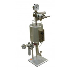 Filter Press, HTHP, 175 mL, Single Capped Cell for Filter Paper, CO2 Pressure